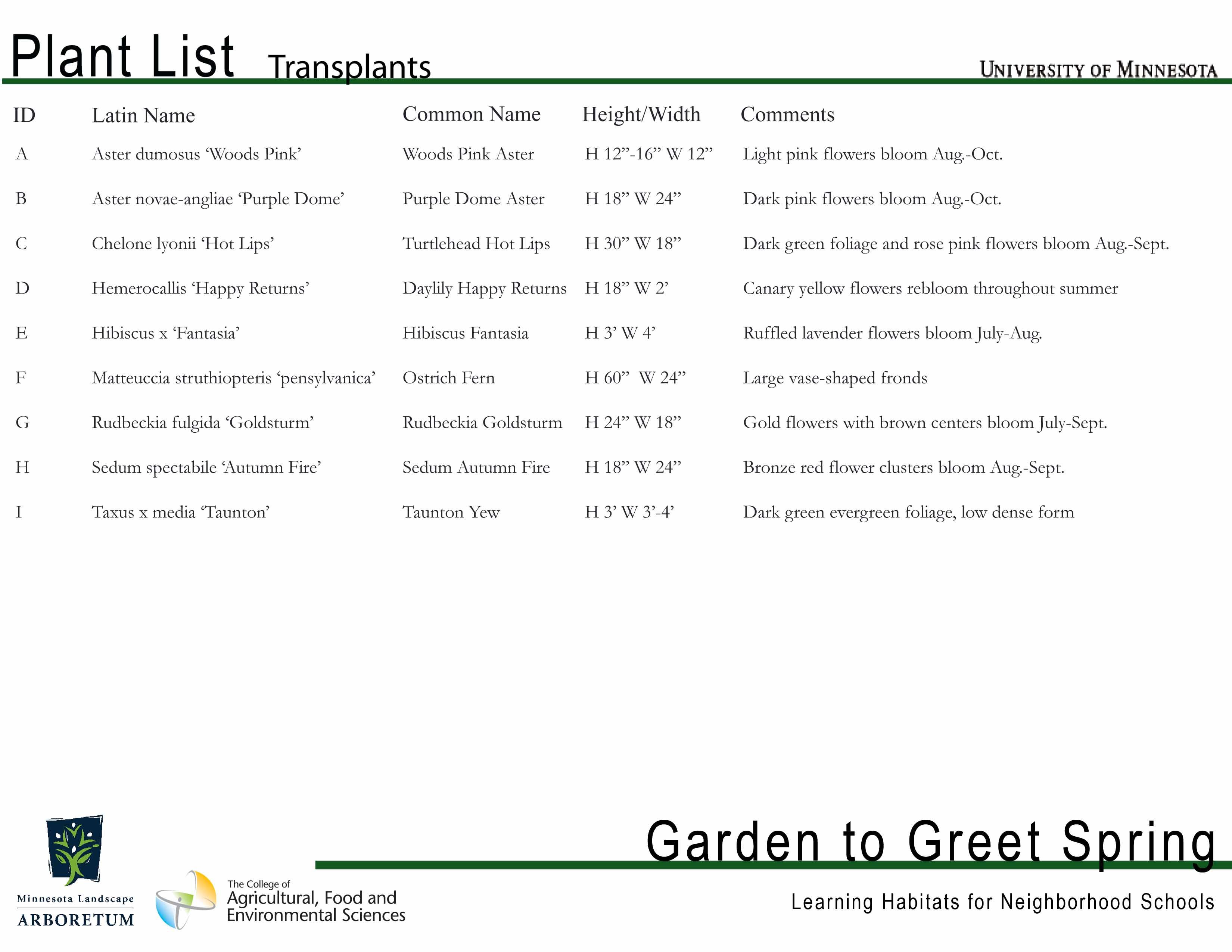 Garden to greet spring download garden to greet spring bulb list mightylinksfo