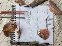 Nature journal, htree bark theme, Reba Luiken
