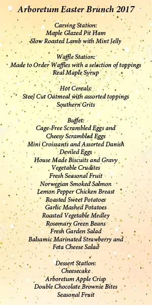 Easter brunch 2017 for Easter brunch restaurant menus
